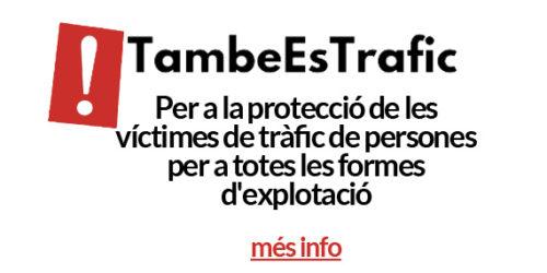 Dia Mundial contra el tràfic de persones: Nota de premsa #TambeEsTrafic